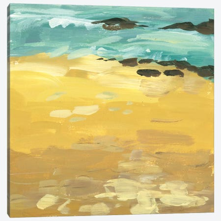 Wave Impression I Canvas Print #WNG600} by Melissa Wang Canvas Art