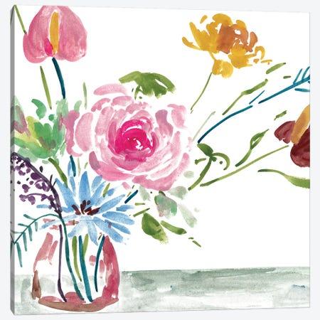 Celebration Bouquet I 3-Piece Canvas #WNG627} by Melissa Wang Canvas Print
