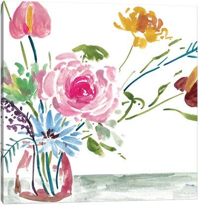 Celebration Bouquet I Canvas Art Print