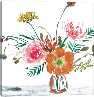 Celebration Bouquet II Canvas Art Print