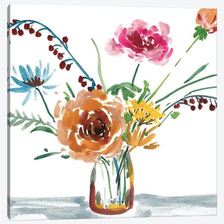 Celebration Bouquet III Canvas Print #WNG629} by Melissa Wang Canvas Wall Art