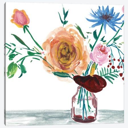 Celebration Bouquet IV Canvas Print #WNG630} by Melissa Wang Art Print