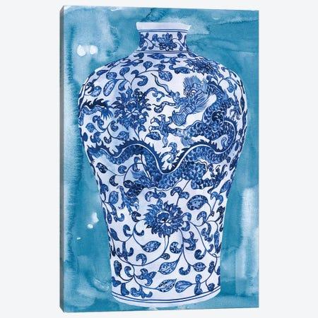 Ming Vase I Canvas Print #WNG645} by Melissa Wang Art Print