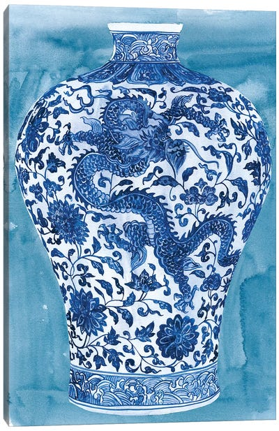 Ming Vase II Canvas Art Print