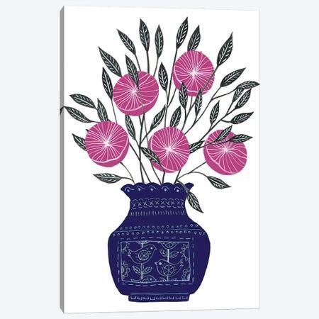 Painted Vase IV Canvas Print #WNG653} by Melissa Wang Art Print