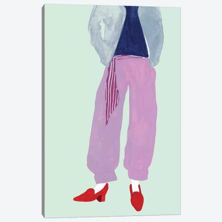 Standing Figure I Canvas Print #WNG654} by Melissa Wang Canvas Artwork