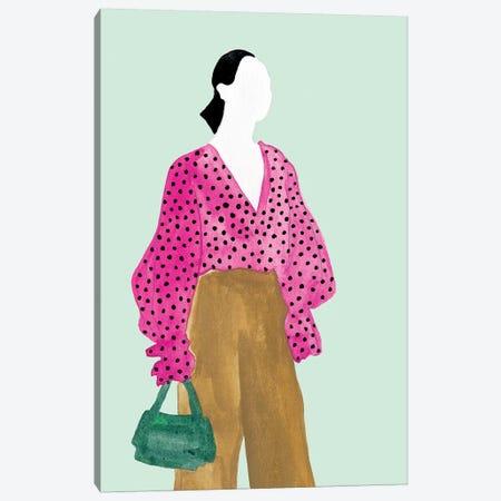 Standing Figure II Canvas Print #WNG655} by Melissa Wang Canvas Art