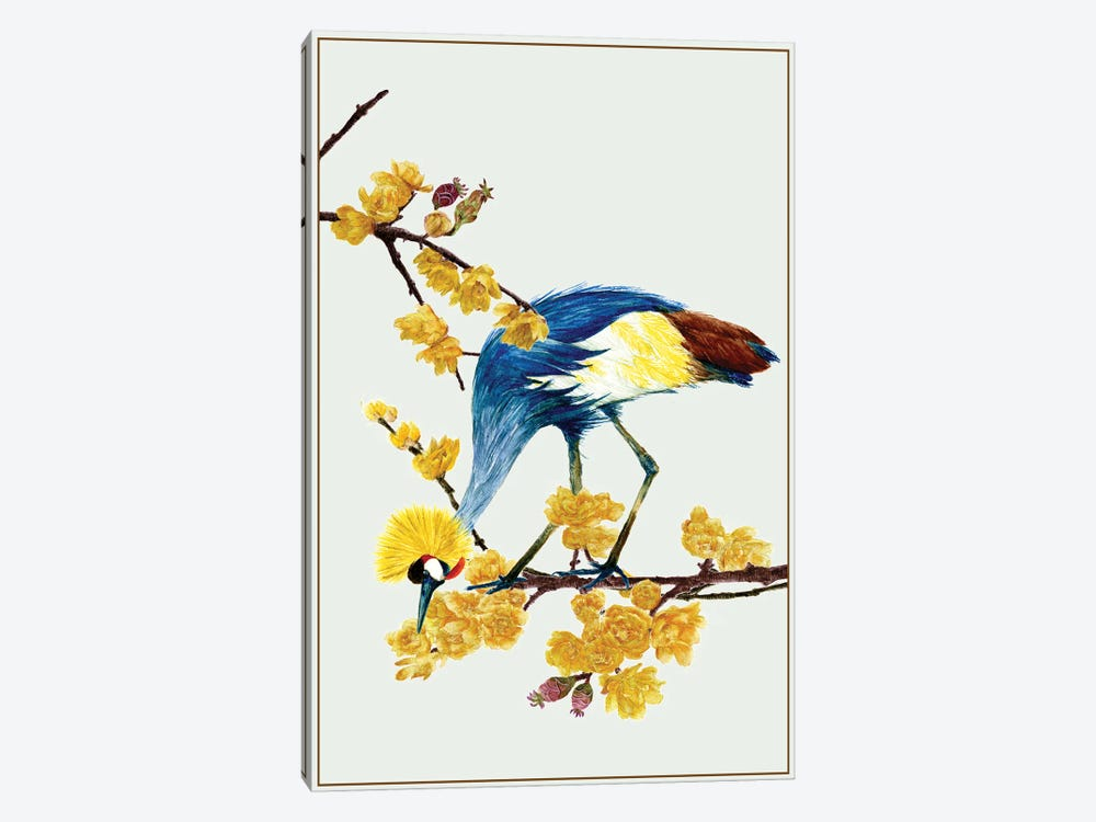 Chimonanthus Praecox I by Melissa Wang 1-piece Canvas Print