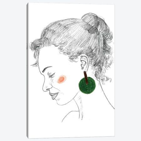 Glance I Canvas Print #WNG660} by Melissa Wang Canvas Artwork