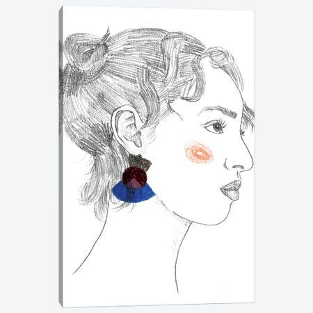Glance II Canvas Print #WNG661} by Melissa Wang Canvas Art