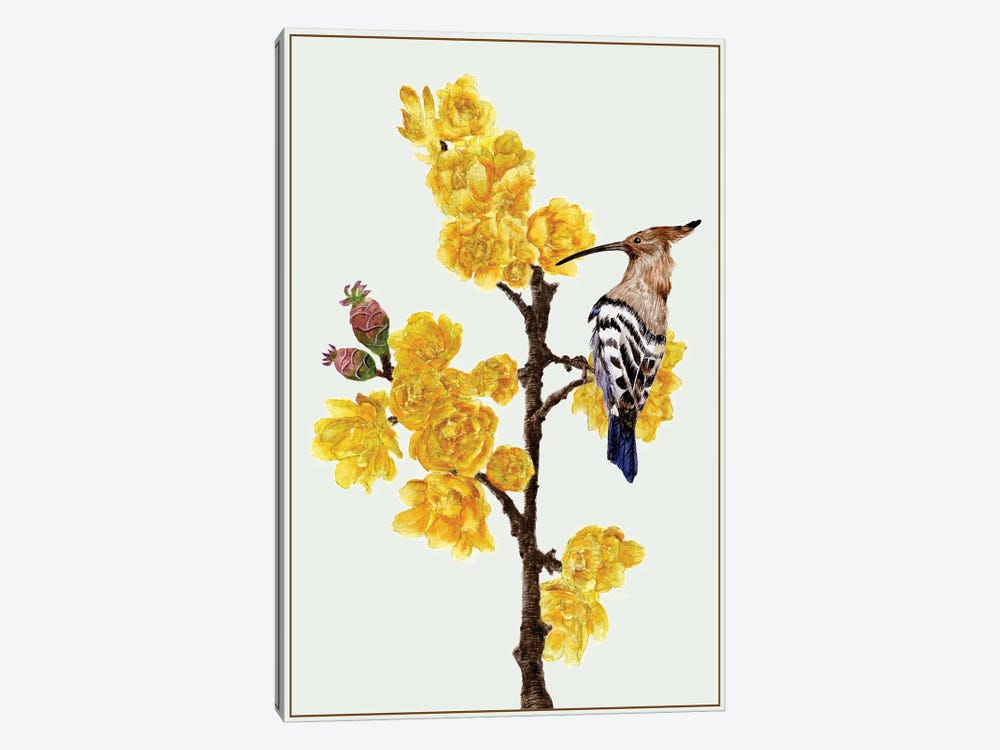Chimonanthus Praecox II by Melissa Wang 1-piece Canvas Art