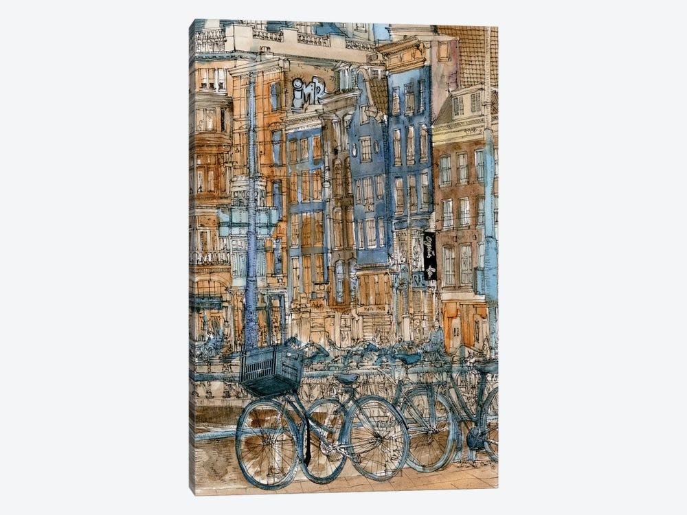 City Scene I by Melissa Wang 1-piece Art Print