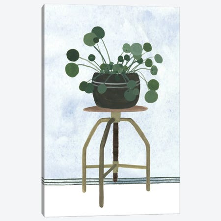 Mes Plants IV Canvas Print #WNG680} by Melissa Wang Canvas Artwork
