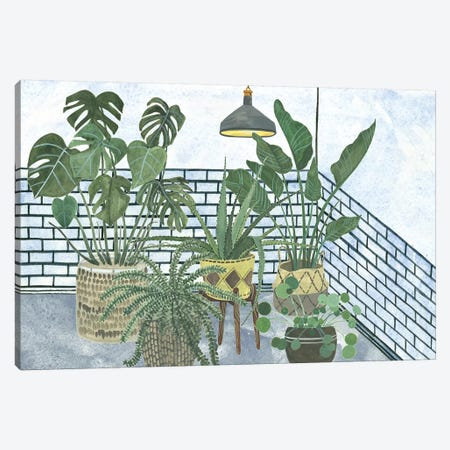 Mes Plantes Collection Canvas Print #WNG681} by Melissa Wang Canvas Wall Art