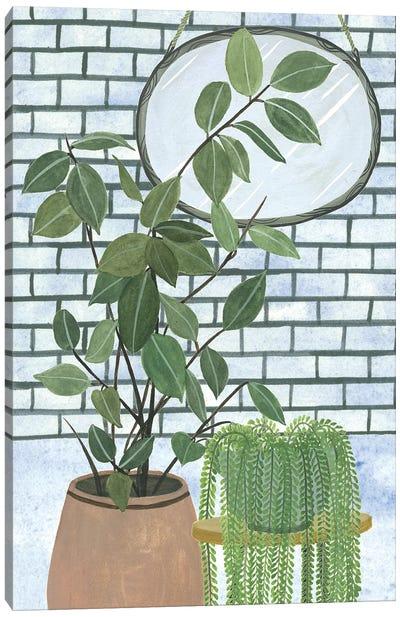 Mes Plantes Collection Canvas Art Print
