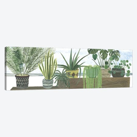 Mes Plantes Collection Canvas Print #WNG683} by Melissa Wang Canvas Art