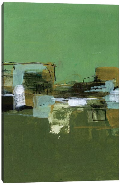 Abstract Village II Canvas Art Print