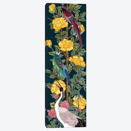 Chinese Peonies III 3-Piece Canvas #WNG695} by Melissa Wang Canvas Artwork