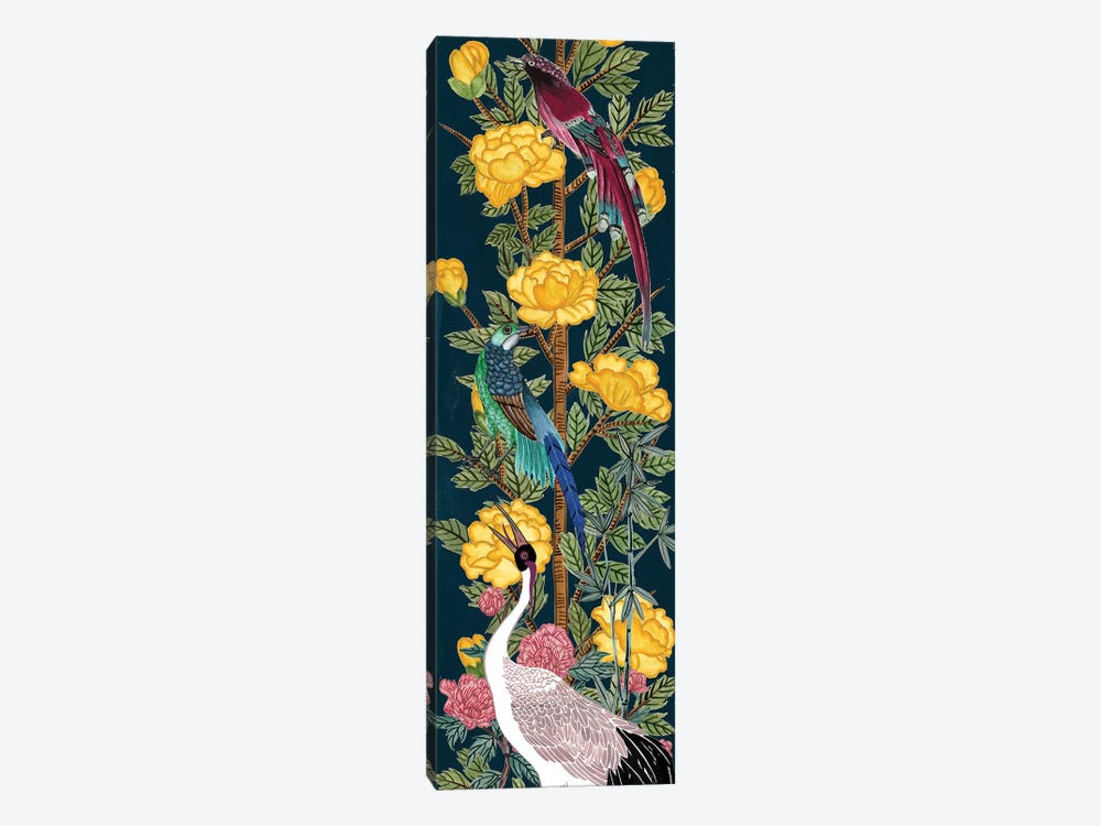 Chinese Peonies III by Melissa Wang 1-piece Canvas Art Print