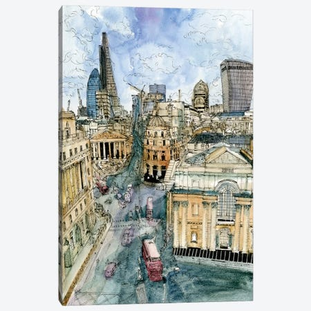 City Scene III Canvas Print #WNG69} by Melissa Wang Canvas Print