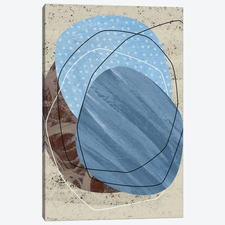 Dust Storm II 3-Piece Canvas #WNG705} by Melissa Wang Canvas Art