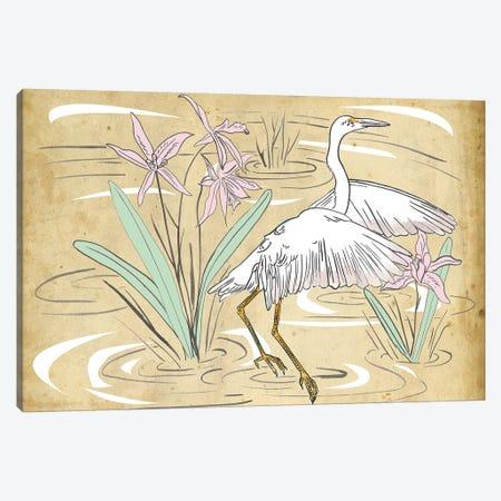 Great Egret I Canvas Print #WNG716} by Melissa Wang Canvas Print