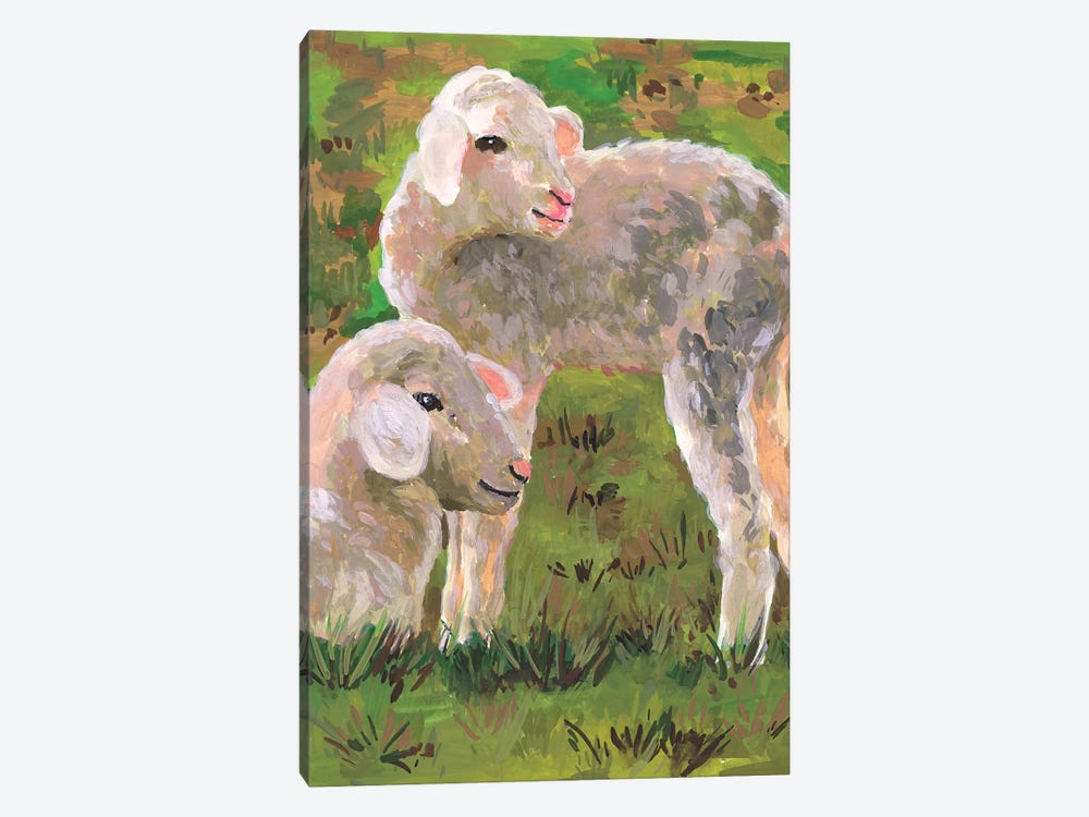 In the Meadow I by Melissa Wang 1-piece Canvas Artwork