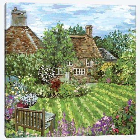 Lavender Lane I Canvas Print #WNG726} by Melissa Wang Canvas Art