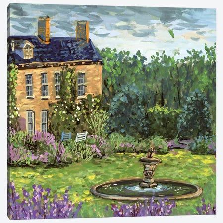 Lavender Lane II Canvas Print #WNG727} by Melissa Wang Canvas Wall Art