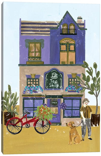 Local Cafe I Canvas Art Print