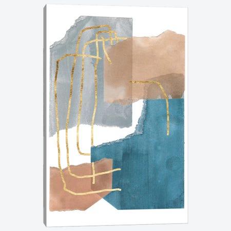 Matter Dissolving II Canvas Print #WNG733} by Melissa Wang Canvas Artwork
