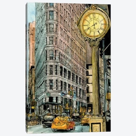 City Scene VII Canvas Print #WNG73} by Melissa Wang Canvas Wall Art