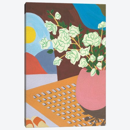 Portrait of Home V Canvas Print #WNG740} by Melissa Wang Art Print