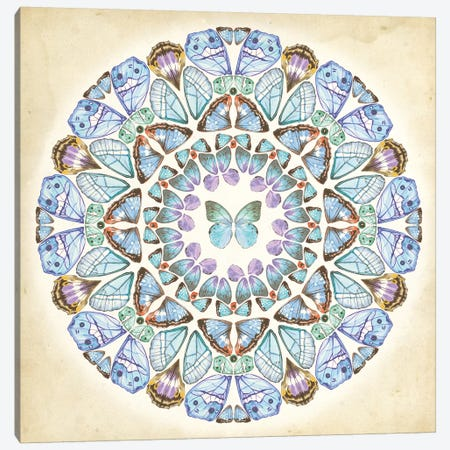 Prosperity Mandala III Canvas Print #WNG746} by Melissa Wang Canvas Art