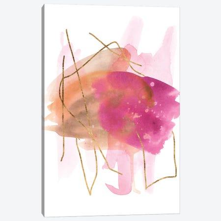 Rose Edge IV Canvas Print #WNG751} by Melissa Wang Canvas Wall Art