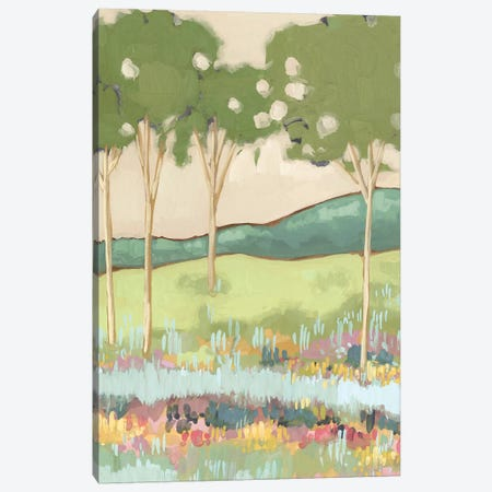 Shades of Trees I Canvas Print #WNG755} by Melissa Wang Canvas Print