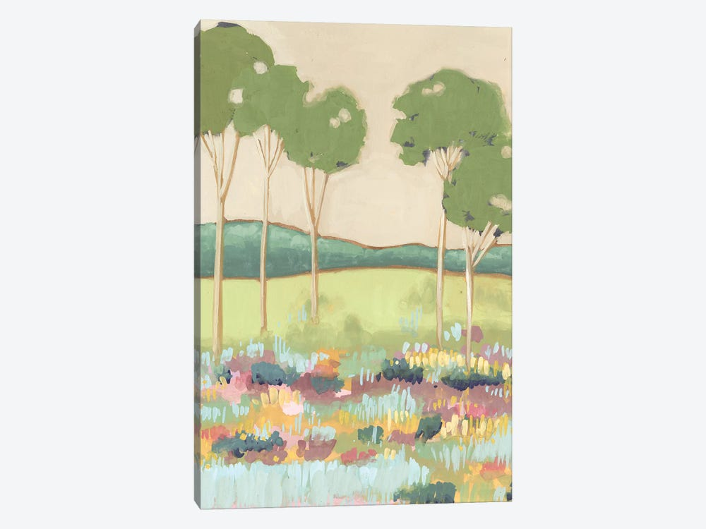 Shades of Trees II by Melissa Wang 1-piece Canvas Print