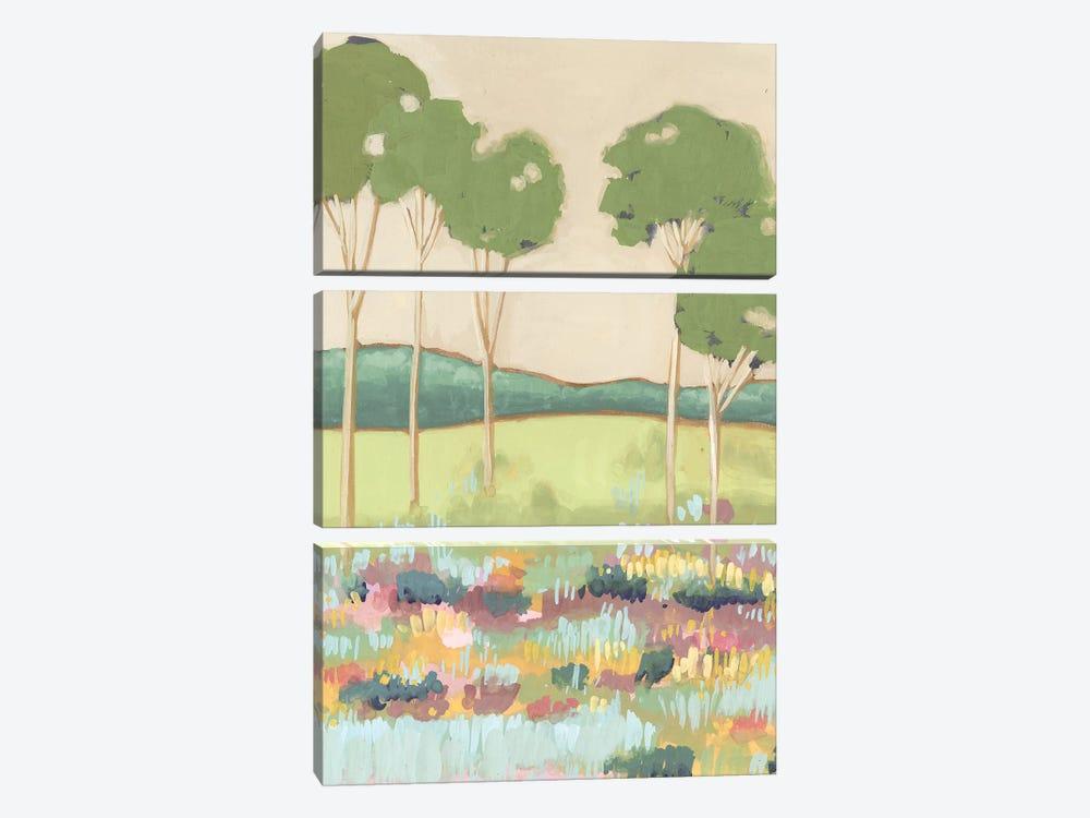 Shades of Trees II by Melissa Wang 3-piece Art Print