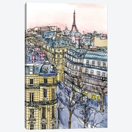 City Scene IX Canvas Print #WNG75} by Melissa Wang Canvas Print