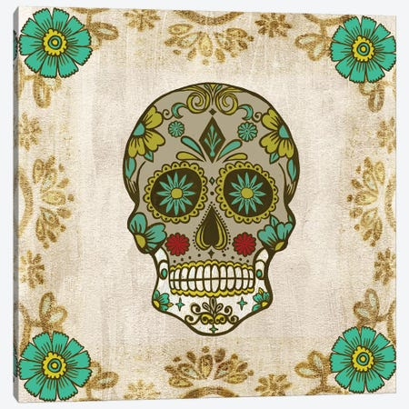 Day of the Dead I Canvas Print #WNG777} by Melissa Wang Canvas Print