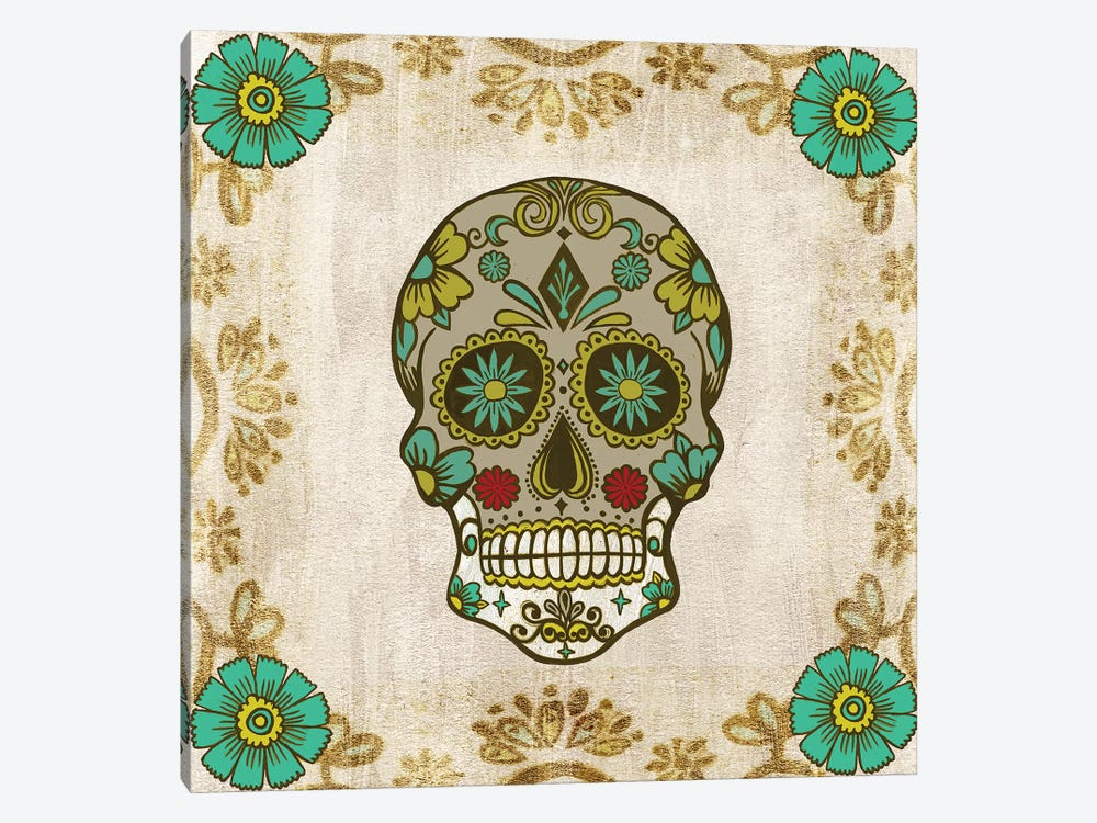 Day of the Dead I by Melissa Wang 1-piece Canvas Artwork