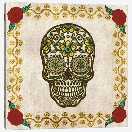 Day of the Dead II Canvas Print #WNG778} by Melissa Wang Canvas Wall Art