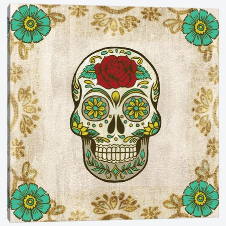 Day of the Dead III Canvas Print #WNG779} by Melissa Wang Canvas Art