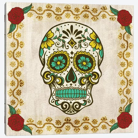 Day of the Dead IV Canvas Print #WNG780} by Melissa Wang Canvas Print