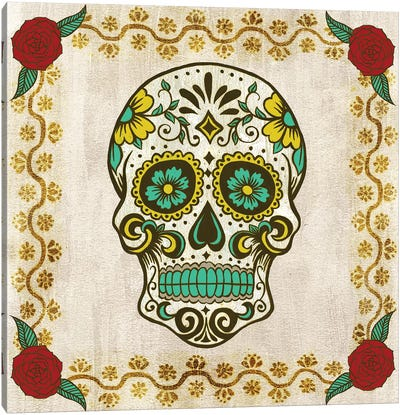 Day of the Dead IV Canvas Art Print