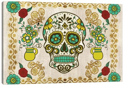 Dia de los Muertos Collection A Canvas Art Print