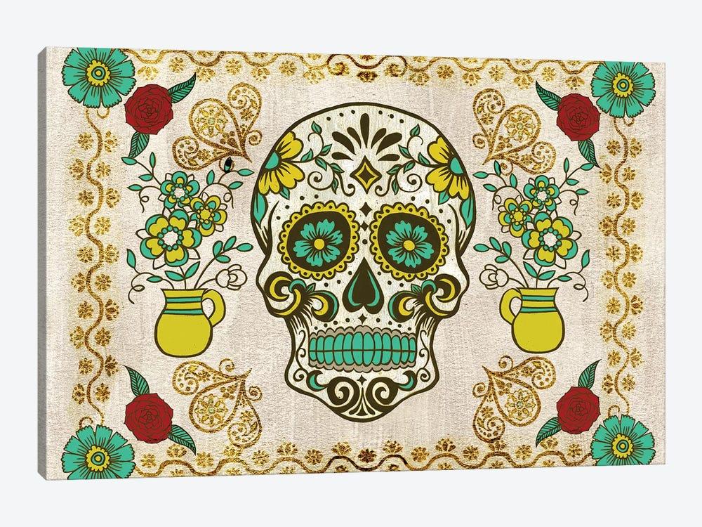 Dia de los Muertos Collection A by Melissa Wang 1-piece Canvas Art Print