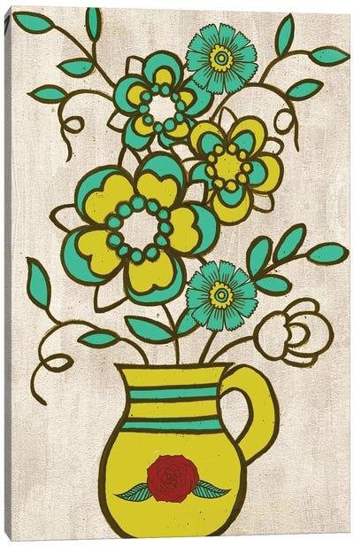 Dia de los Muertos Collection B Canvas Art Print