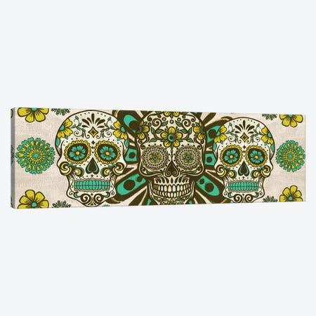 Dia de los Muertos Collection D Canvas Print #WNG783} by Melissa Wang Canvas Art Print