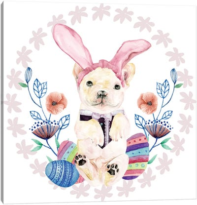 Easter Pups Collection C Canvas Art Print